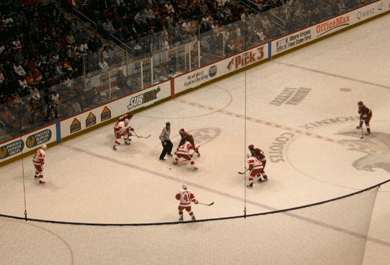 Another Lost Face-Off For Coyotes