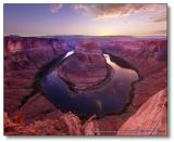 Horseshoe Bend at Sunset : Week 3