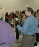 Panel cats - Cedi in the back - the MCO gets ALL the votes. Cedi on taustalla, kaikki äänet menivät etualan coonille.