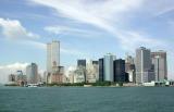 Lower Manhattan from Staten Island Ferry