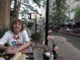 Kathie at Dinner