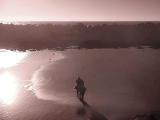 A peaceful beach (infrared)