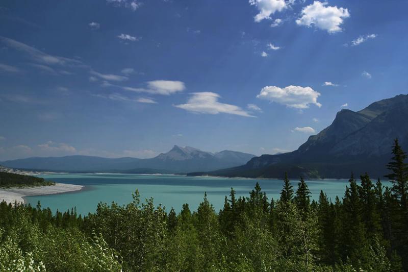 Lake Abraham, Nordegg, Alberta, Canada
