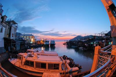 Tai O in Fisheye