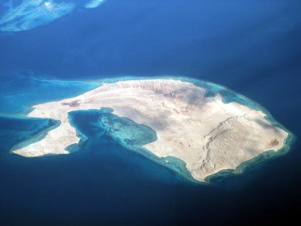 Sanafir Island, Saudi Arabia (Red Sea, near Sharm el Sheikh)
