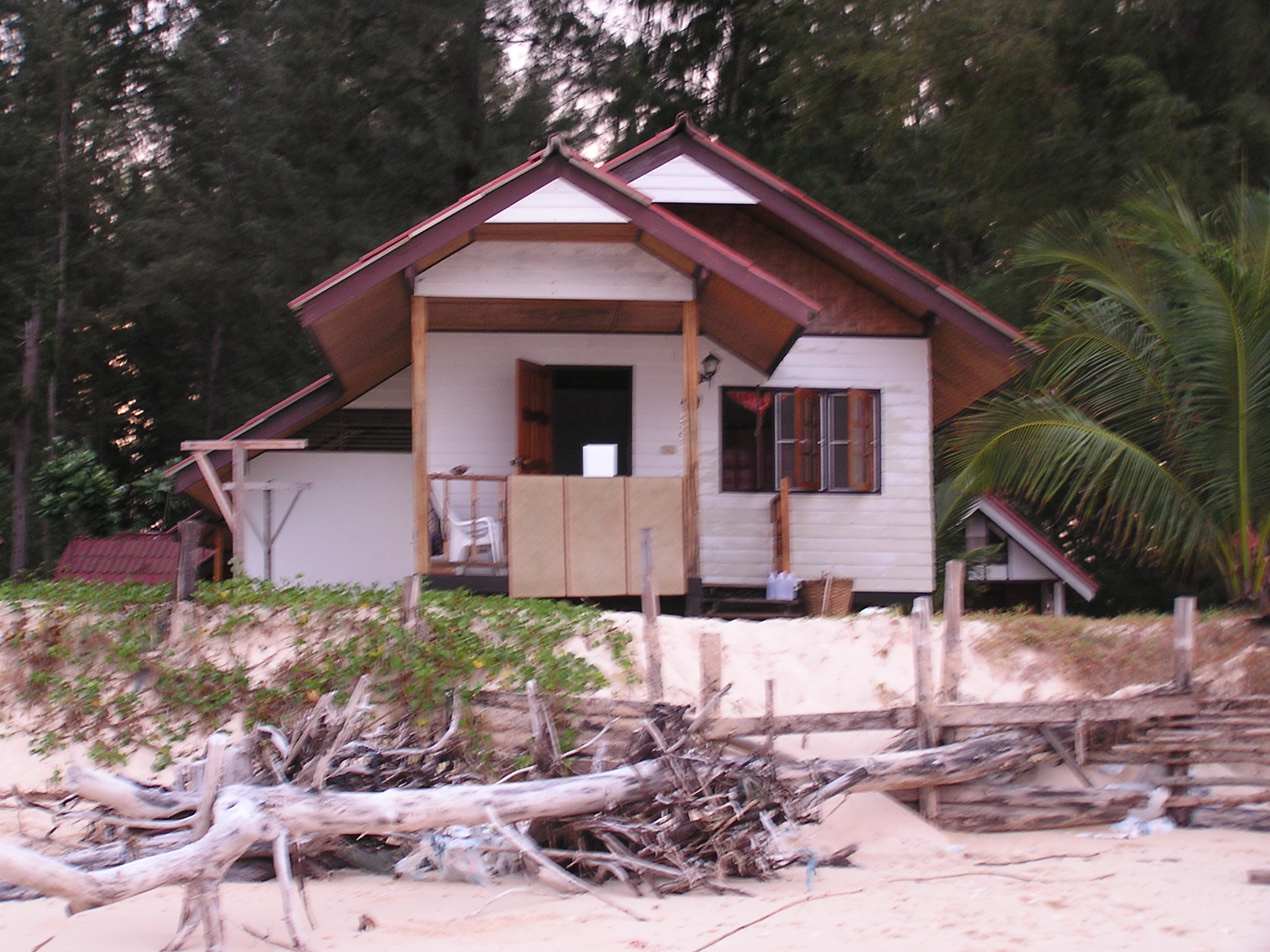 our beachside cabana