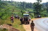 On the way to Kibale National Park
