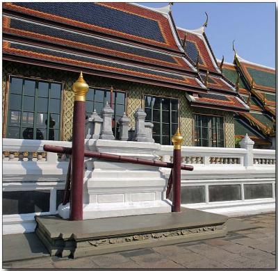 Elephant mount - Royal Palace, Bangkok
