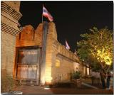 Old city wall and gate - Chiang Mai