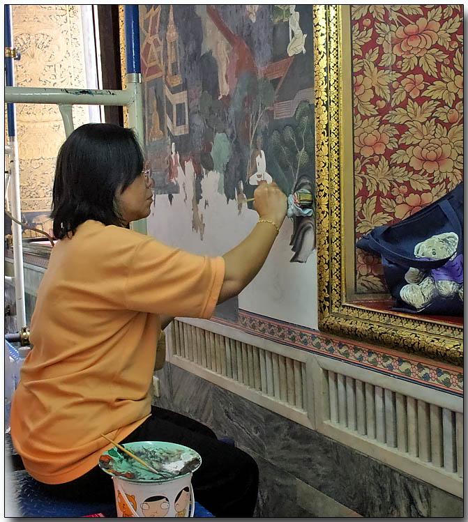 Restoring Wat Pho, Bangkok