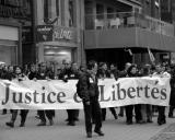 Justice et Libertés / Manif anti-fn à Strasbourg