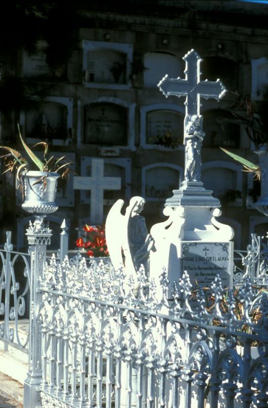 Cemetery of Los Llanos