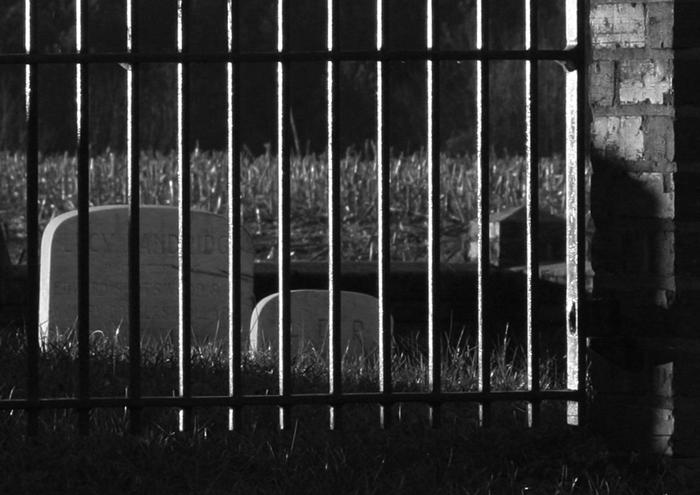 gated gravestones