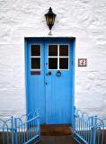 St Andrews Cottage Door.