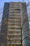 NYU Washington Square Village Housing - Views from LaGuardia Place