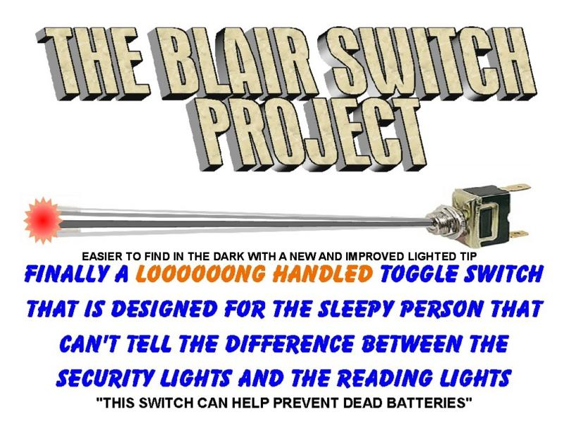 THE BLAIR SWITCH PROJECT