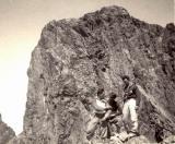 Sur la Pointe d'Aragon : François Cazalet, Robert Ollivier et Alex Chicher
