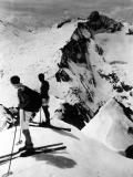 Turon de Néouvielle (3042m), panorama Sud : face Nord- Est  du  Pic Long