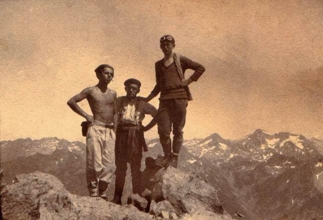 Août 1930 - Sommet du Pic dOssau