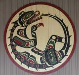 Round door carving