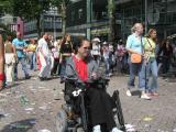Dance Parade in Rotterdam 2004 at Schouwburgplein