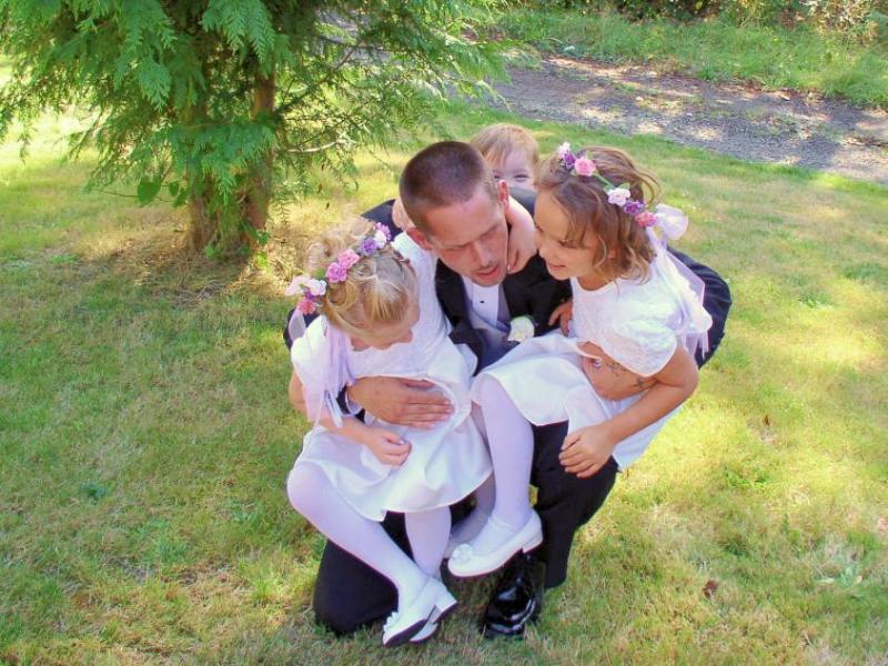 Kitt and his girls.