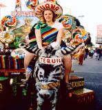 A Tijuana donkey named Tequila