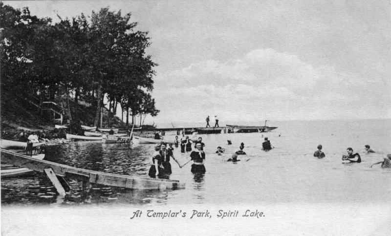 At Templars Park 1907
