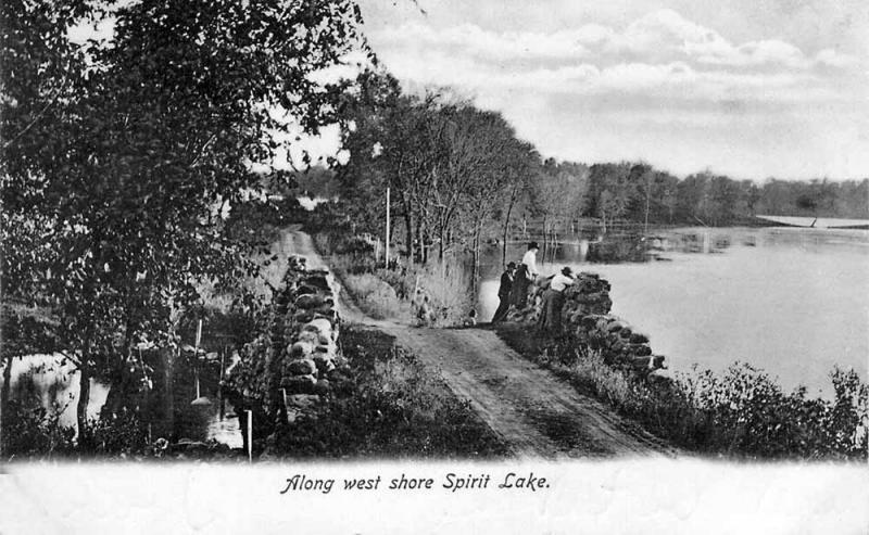 West Shore Spirit Lake 1907