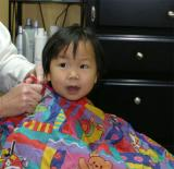 Lauren's First Haircut