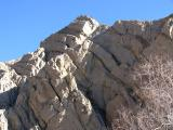 Located on the San Andreas Fault Line