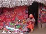 San Blas Kuna Indian Sewing 2