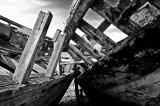 Wrecks at Camaret