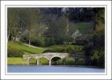 The bridge and monument ~ Stourhead