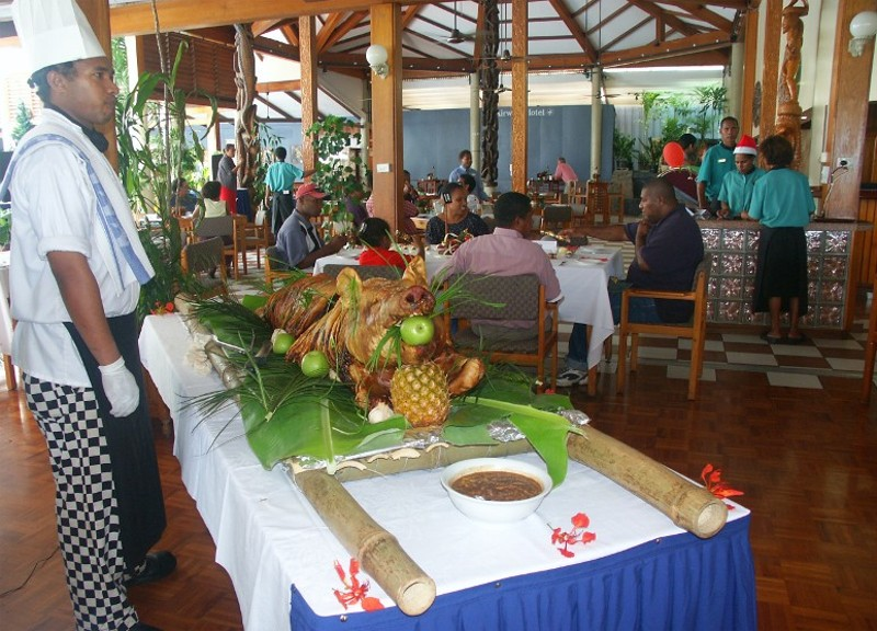 Christmas Lunch - Port Moresby Style * by Rene Little