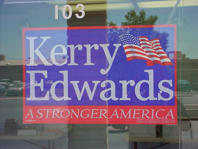 Kerry / Edwards <br> a stronger America