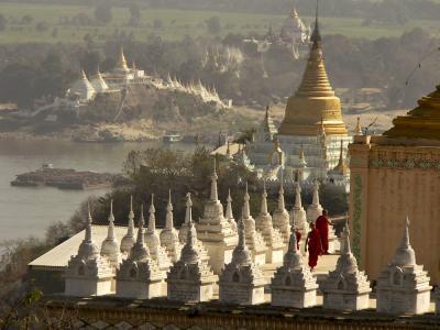 Overlooking Sagaing, Myanmar, 2005