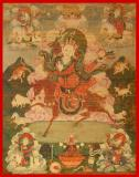Five Foremost Deities - Mo Lha