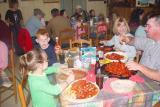ANOTHER FAMILY ENJOYING CRAWFISH AT DI'S