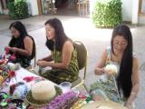 Creating Ribbon Leis