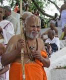 Swami near the Satyakalam Cauvery bank