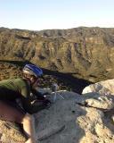 Photographer on Cheeseboro Ridge