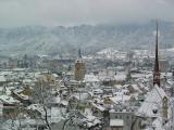 Zurich, winter view