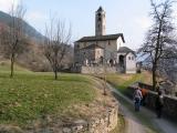 Church in Rossura, Ticino