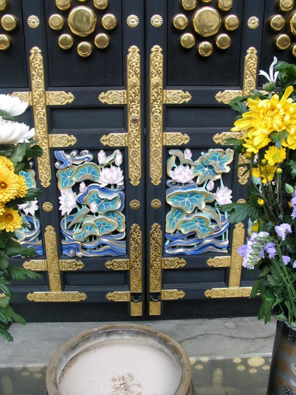 Wood Carvings on Door