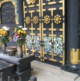 Mausoleum carvings