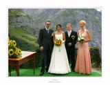 Brautpaar und Brautführerpaar