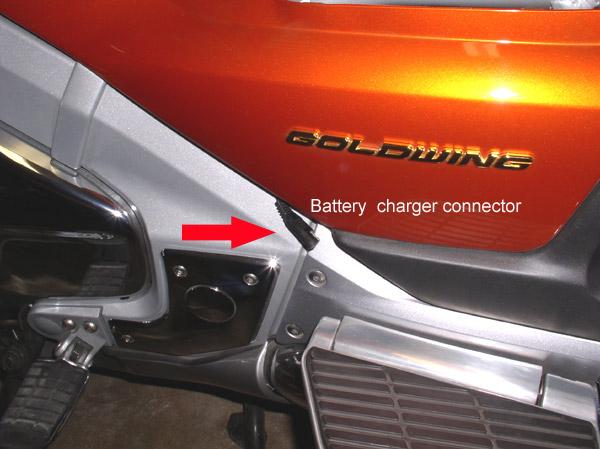 Battery charger plug