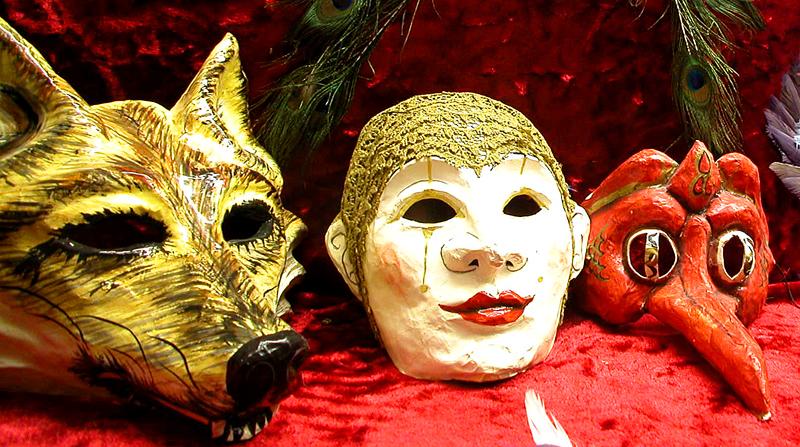 Marti Gras Mask Collection.