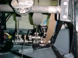 Rear view of the pedal assy.
